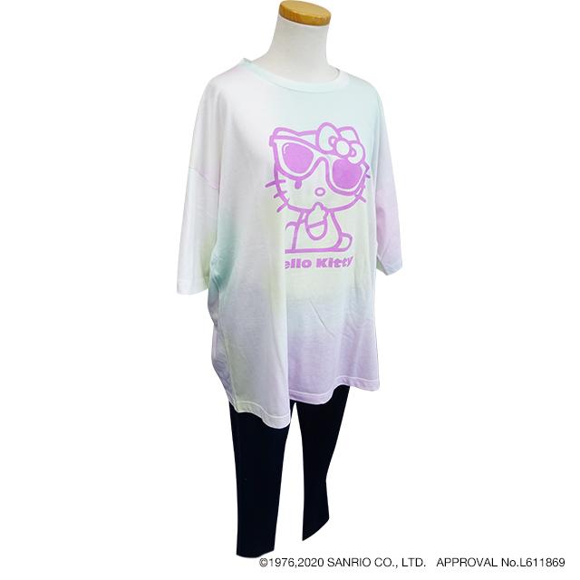 タイダイ風BIG Tシャツ シナモロール