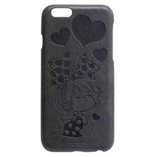 水森亜土 イタリアンPUケース iPhone6/6s リボン/ドット・CH