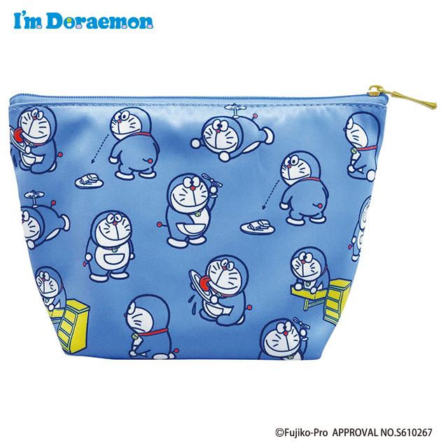 I'm Doraemon 舟形ポーチ 初期ドラえもん