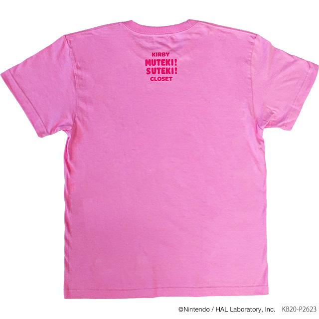 KIRBY MUTEKI! SUTEKI! CLOSET Tシャツ Candy