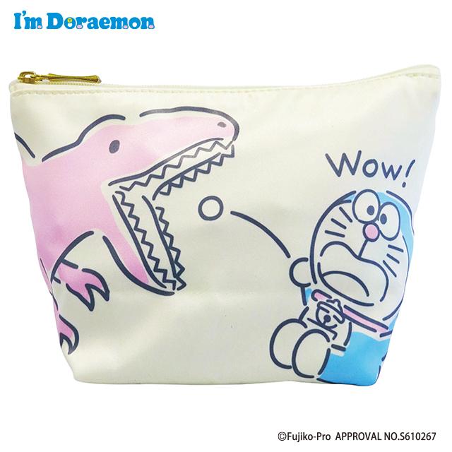 I'm Doraemon 舟形ポーチ キョウリュウ