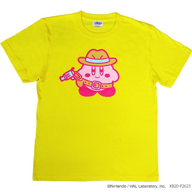 KIRBY MUTEKI! SUTEKI! CLOSET Tシャツ GunMan