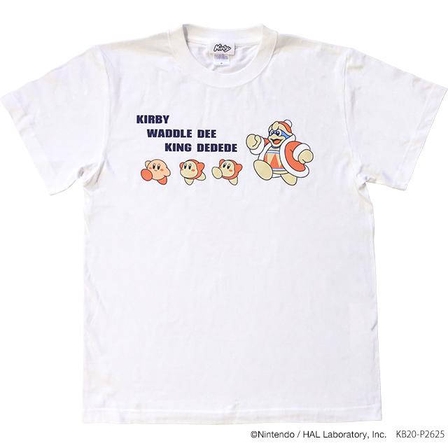 星のカービィ Tシャツ KING DEDEDE