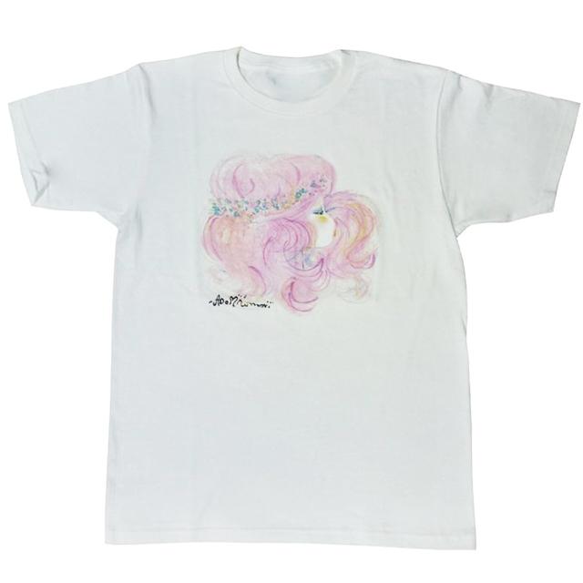 水森亜土 半袖Tシャツ ヨコガオ