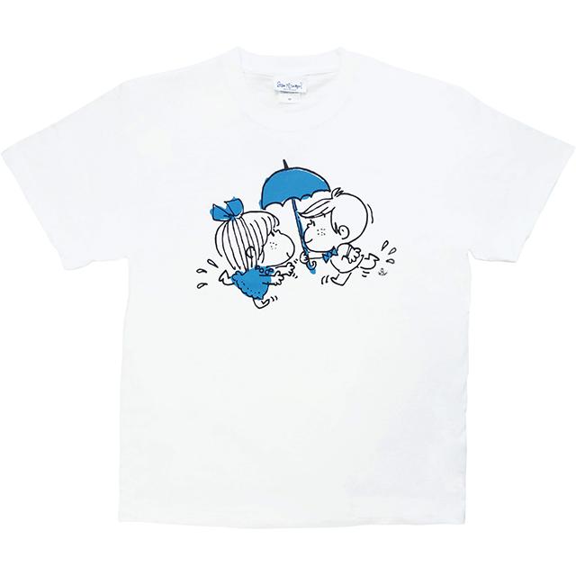 水森亜土 レディースTシャツ フタリ