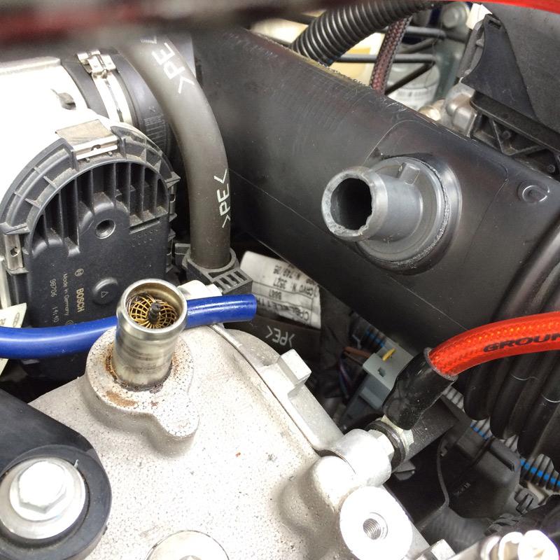 NAG VALVE Superb Force φ16 FIAT PANDA 100HP用
