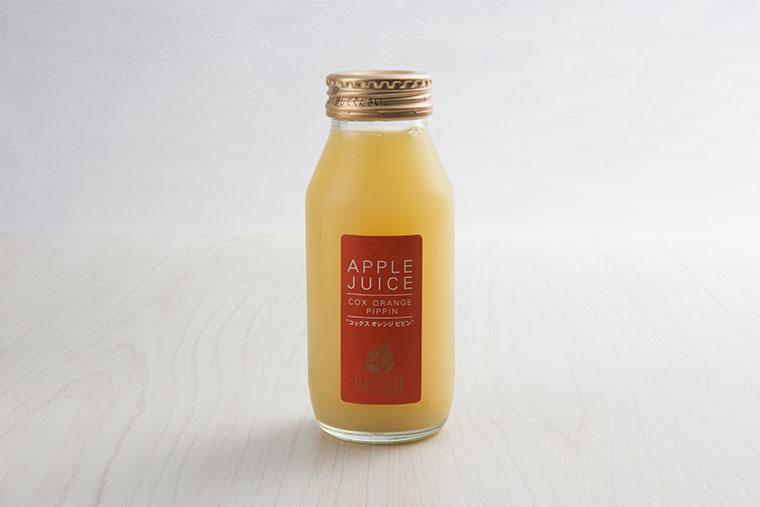 仲野農園のりんごジュース180ml 4本セット<br><br>