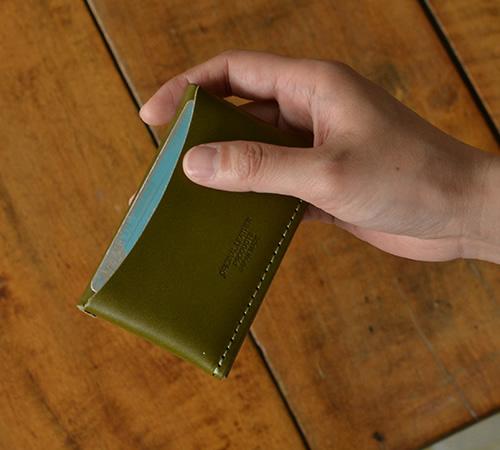 【名刺入れ 日本製 栃木レザー】『pot -ポット-』 小さめ カジュアル 名刺入れ メンズ レディース 紳士 婦人 男性用 女性用 カードケース ジーンズ