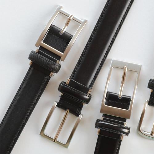 【ベルト ビジネスベルト 牛革】「 より品のいいビジネススタイルを 」毎日のお仕事に 選べる5つのベーシックデザインと2つのカラーリング、メンズ、レディースに専門店が考えたベーシックな 本革ベルト 牛革ベルト 紳士ベルト
