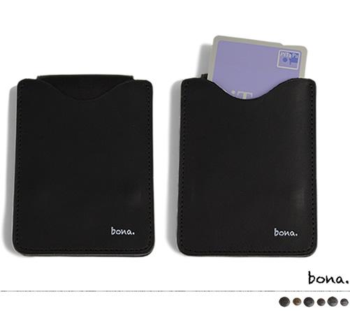 【日本製 キーケース キーホルダー 送料無料】枠に縛られない大人のモードスタイル『bona ボーナ』。しっとりした手触りのオイルレザーに、真鍮製のカシメをアンティークにデザイン。個性的な薄くて四角いデザイン、遊びを効かせたブラックなアイテム。
