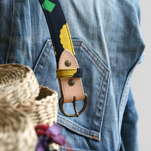 ベルト レディース カジュアル 送料無料 日本製 ベルト専門店 ものづくり ハンドメイド【 Nippon de Handmade 】青衣 あをごろも ヌメ革 本革 牛革 ギフト プレゼント