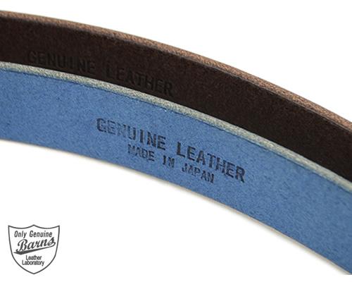【バーンズ Barns ベルト 送料無料 日本製】栃木レザーに、個性的な馬具のバックル。ひっかけて留めるユニークデザイン「LE-4087」【Barns Leather Laboratory バーンズ レザーラボラトリー】