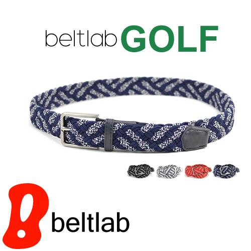 ゴルフ ベルト メンズ ゴルフウェア スポーツウェア ゴルフにおすすめ 伸縮するゴム素材でほどよくフィット。ほんのり和風のメッシュ編み込み