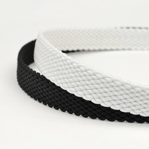 ゴルフ ベルト メンズ ゴルフウェア スポーツウェア ゴルフにおすすめ 伸縮するゴム素材でほどよくフィット。スポーティなメッシュ編み込み