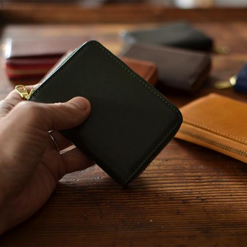 【小銭入れ コインケース ミニ財布】 メンズ レディース イタリアンレザー 本革財布 小さいお財布 コンパクト財布 コの字ファスナー ギフト