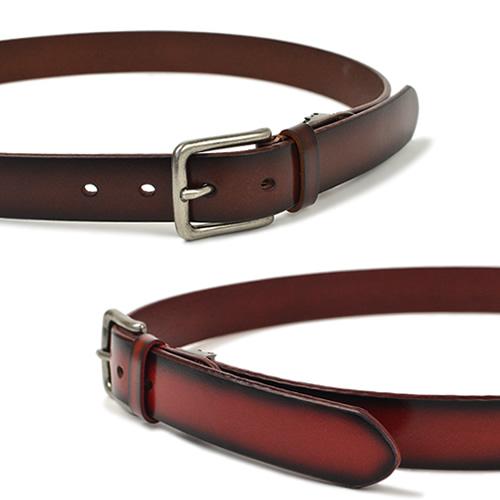 ベルト メンズ レディース カジュアル 本革 牛革 couleur クルール 色を楽しむグラデーションカラーの普段使いベルト