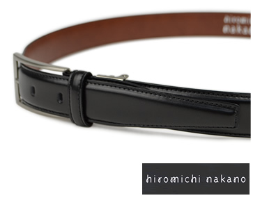 【ビジネスベルト メンズ】hiromichi nakano [ヒロミチ ナカノ] ビジネスベルト