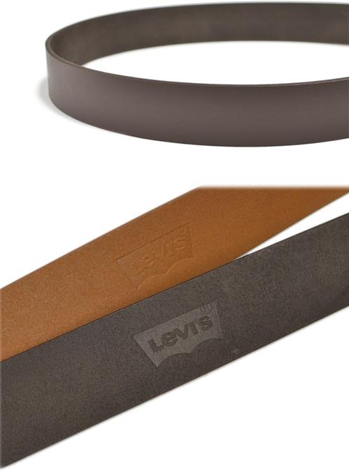 【Levi's リーバイス】 ベルト メンズ 牛革 レザー しっかり幅 ハーネスバックル シンプル ベーシック 40mm 40ミリ 4cm 幅 レザーベルト カジュアルベルト レザー デニム ジーンズ チノパン に ブラック/ダークブラウン/ブラウン belt mens