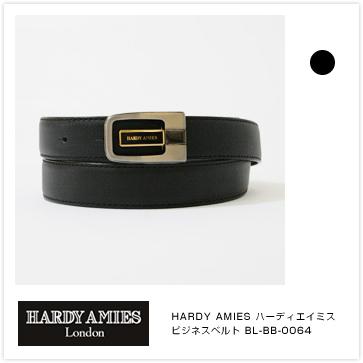 【ビジネスベルト メンズ】HARDY AMIES [ハーディエイミス] ビジネスベルト