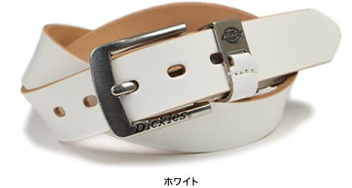 【Dickies ディッキーズ ベルト】ディッキーズロゴマークがポイント 七色のレザーベルト カジュアル メンズ レディース 紳士 牛革 レザー レザーベルト 革ベルト 紳士ベルト