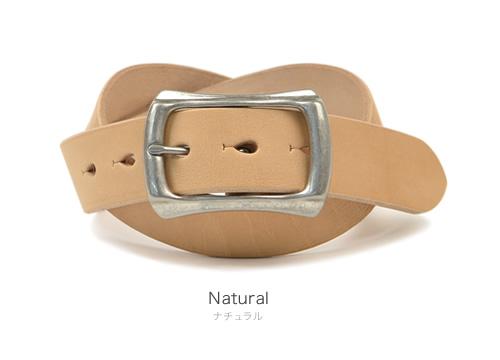 【送料無料 日本製】『 Nippon de Handmade 』栃木レザーさんの タカダベルトに 職人さんのクラフトマンシップをプラス しっかり革を楽しめるカジュアルベルト メンズ デニム MEN'S BELT