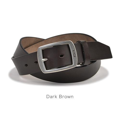 EDWIN エドウィン ベルト メンズ カジュアル 牛革 レザー 日本製 ギャリソンバックル シンプル ベーシック デニム ジーンズ チノパン に 3.5cm幅