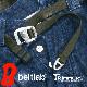 beltlab ベルトラボ trimmers トリマーズ  アウトドアのベルトにおすすめ 軽いバックルに丈夫なナイロンテープを合わせました。自由自在にサイズ調整 日本製 メンズ レディース ベルト ミリタリー 軽い 細み 幅2cm