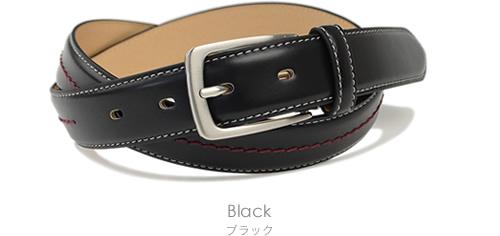 【 ベルト メンズ 】HangTen ハンテン ベルト 紳士 牛革 ビジネス ベルト ビジカジ 紳士ベルト BL-BB-0203