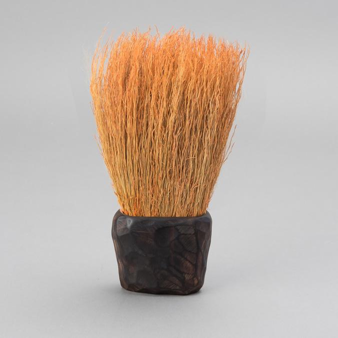 樹が付いたブラシ タイプA オレンジ