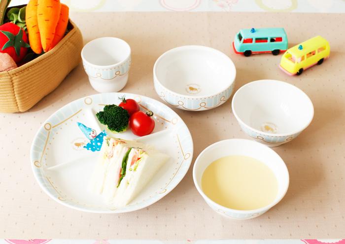 子どもたちとみらいのために「Rompbabyのあんしんな食器」 ピンク5点セット