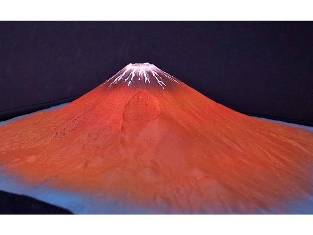 平成富嶽三十六景 第二景 赤富士(単体)