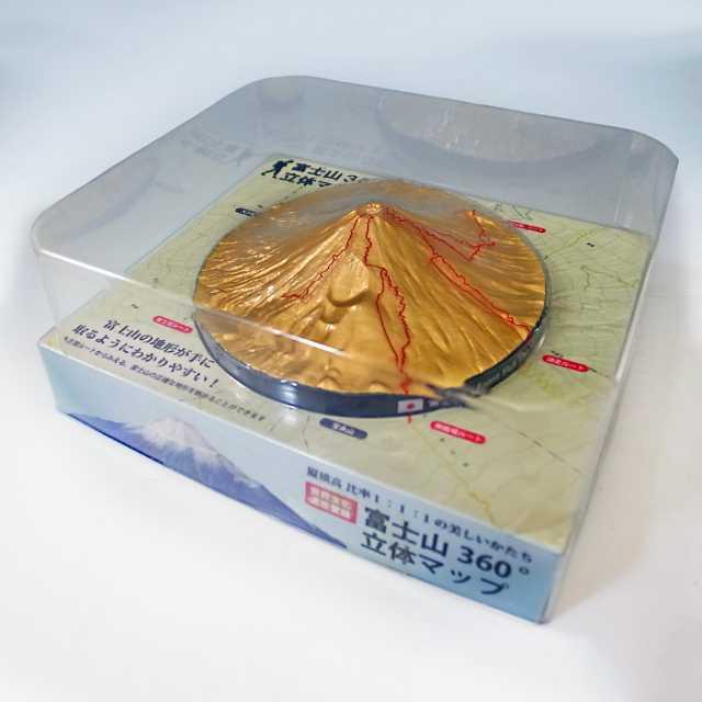 平成富嶽三十六景シリーズ 黄金富士360°立体マップ