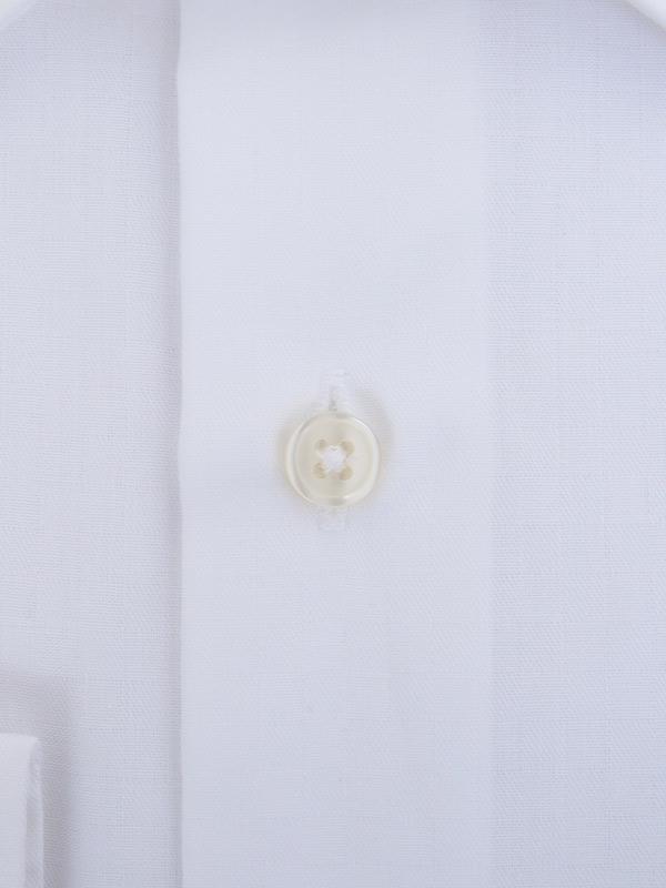 ≪よりどり3枚 3,900円≫形態安定/セミワイドカラー/柄無地ホワイトシャツ