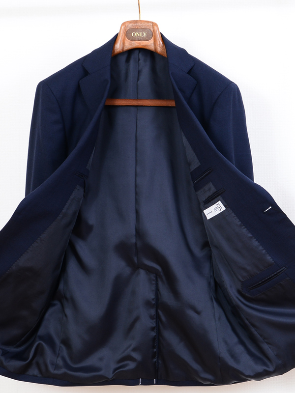 ≪WEB特価≫ストレッチ/ブルー/チェック/スーツ