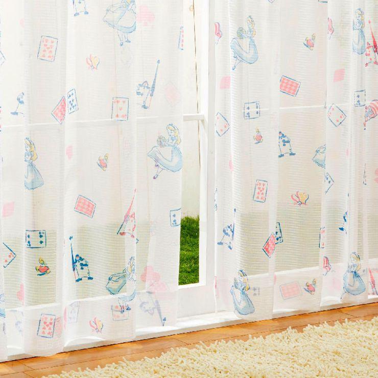 アリス 【2級遮光・遮熱】  カーテン+レースカーテン4枚組  [SB-523-S/SB-524-S] ¥5,660〜¥8,300