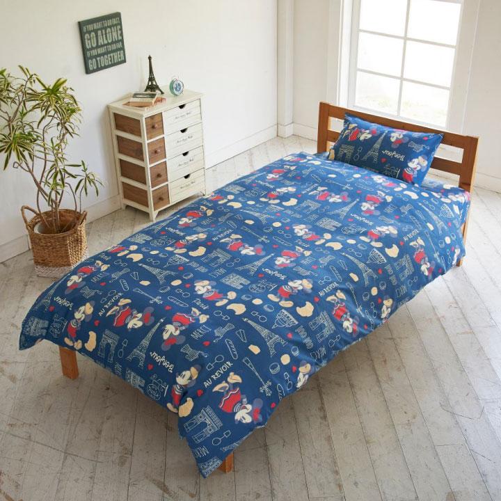 ミッキー&ミニー 枕カバー 43×63cm  [SB-463-D-P]