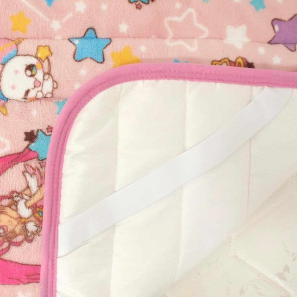 スター☆トゥインクルプリキュア フランネル お昼寝敷きパッド 70×120cm[TO-190405]