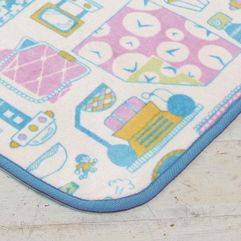 ドラえもん I'm Doraemon ラグ 185×185 [SB-290]