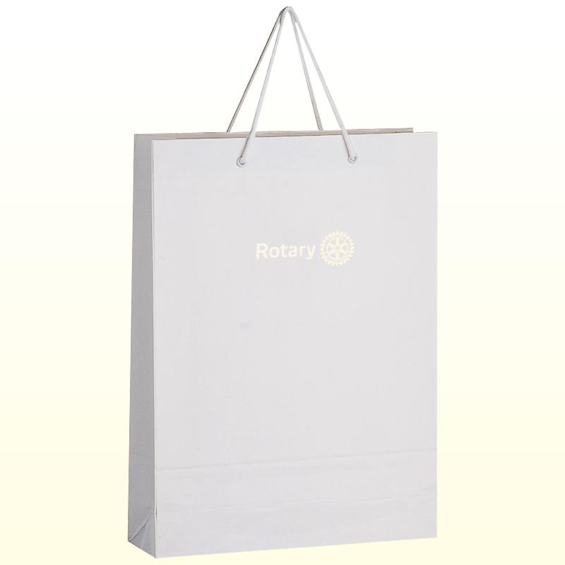 コーティング紙袋 <大>白
