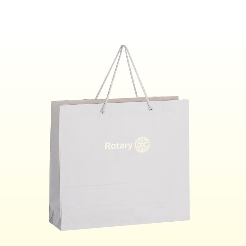 コーティング紙袋 <中>白