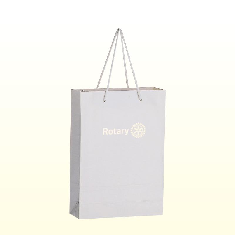 コーティング紙袋 <小>白