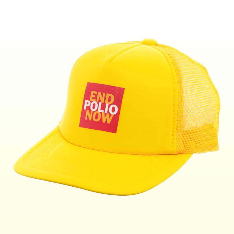 END POLIO NOW キャップ