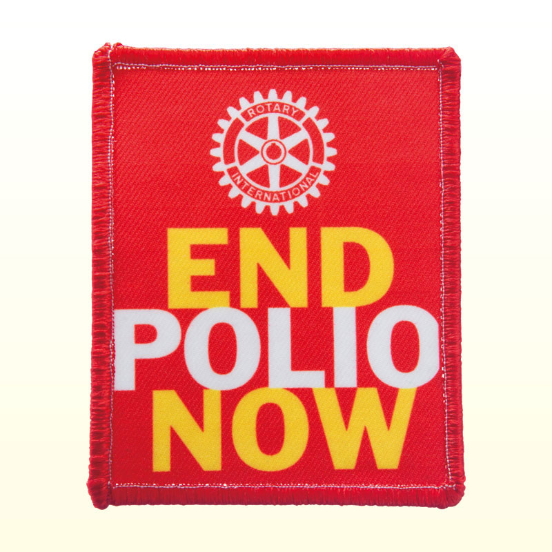 END POLIO NOW ワッペン