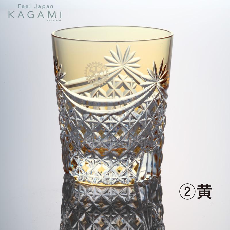 ≪KAGAMI≫江戸切子・ロックグラス 1客
