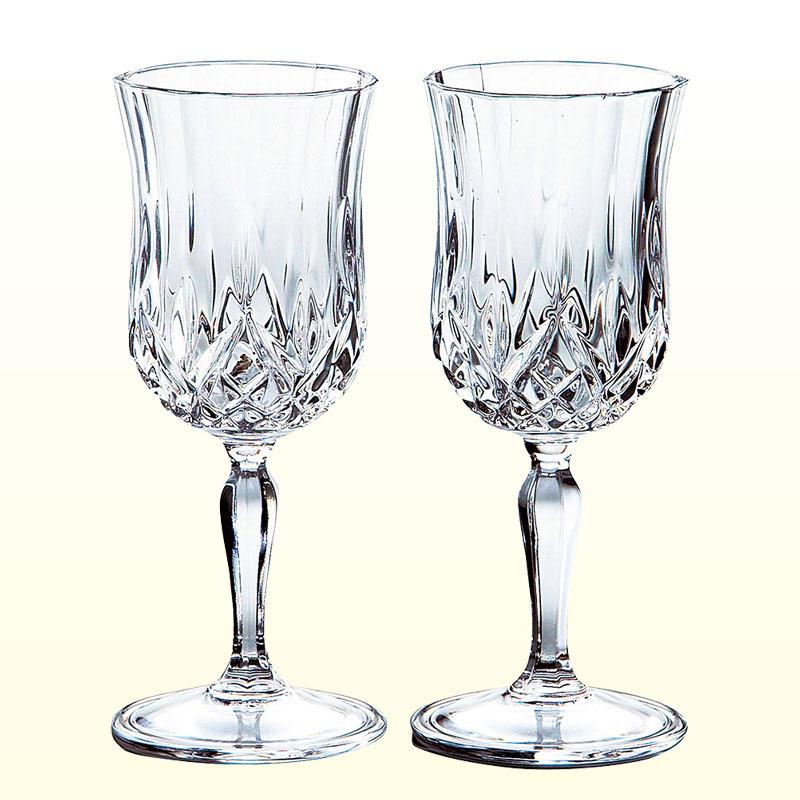 ニュークリスタルワイングラス(2客)
