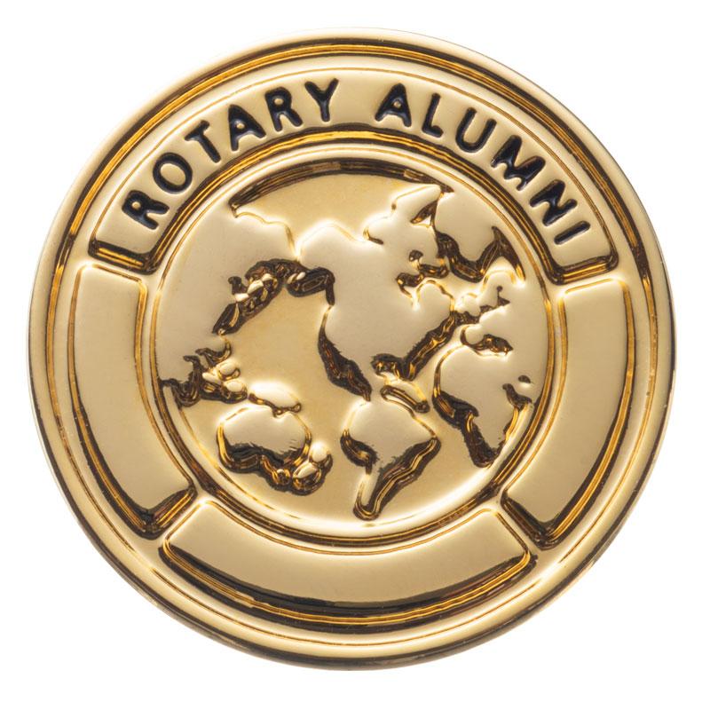 ロータリーの学友バッジ(ROTARY ALUMNI)