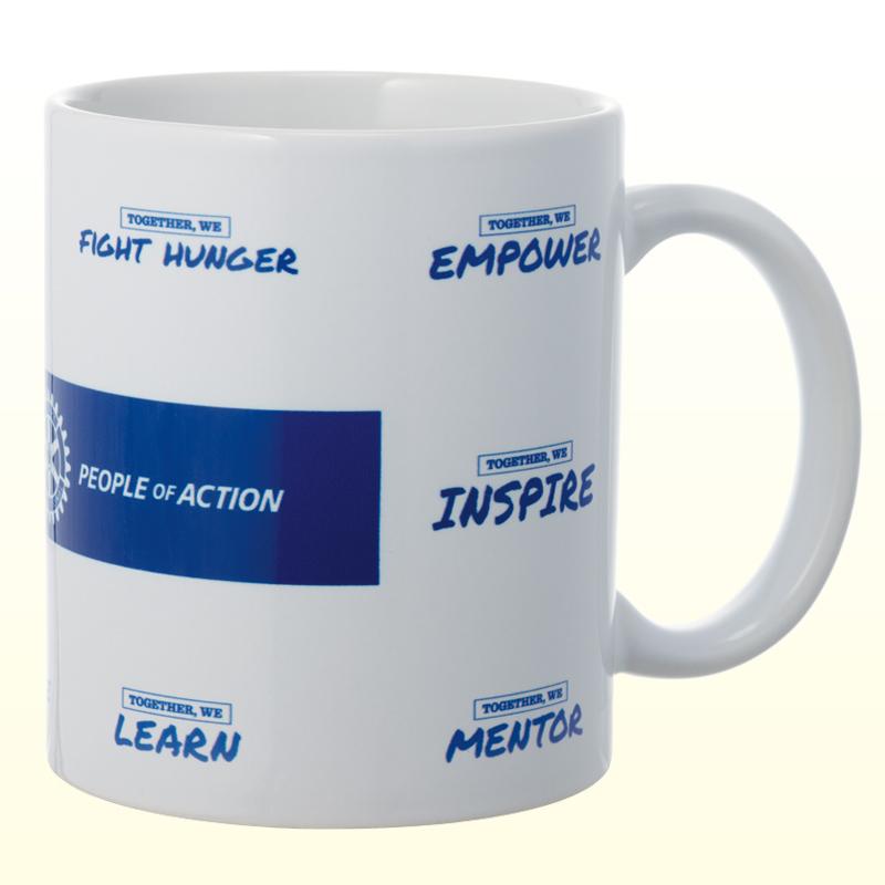 PEOPLE OF ACTIONマグカップ