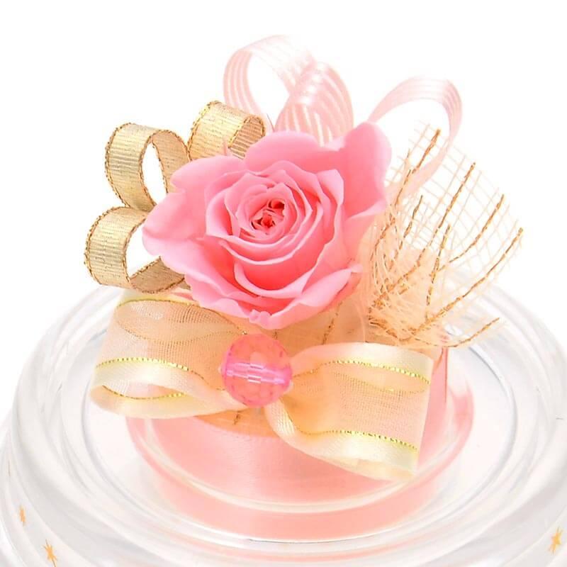 お祝い セット 誕生石ミニドーム&フルラハンカチ ブランド