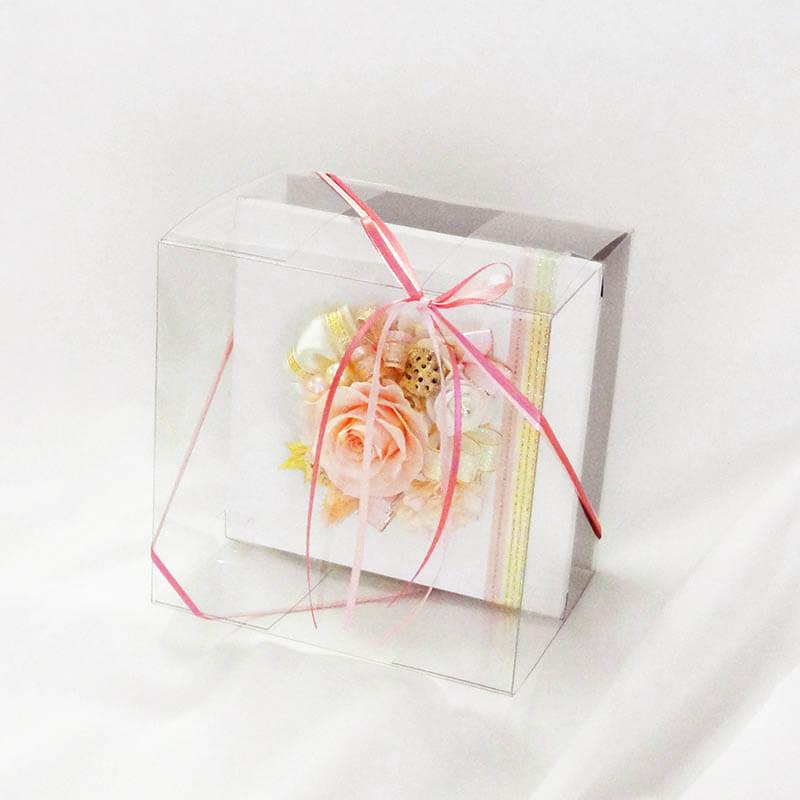 フレームアレンジ エレガント (ホワイトフレーム) ピンク