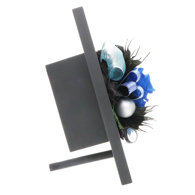 お祝い プリザーブドフラワー フレーム ブラック 5色展開 「エレガント」